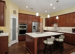 Alachua Kitchen and Bath Remodel Project with Warm Tones and Modern Features | Robinson Renovation & Custom Homes, Inc.