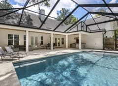 Fletcher Park Lot 5 Fun State Pools Custom Pool of Modern Farmhouse Custom Home in Gainesville, FL-1