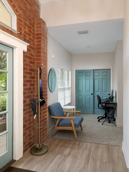 Dentist Office Commercial Renovation Entrance in Florida by Robinson Renovation & Custom Homes