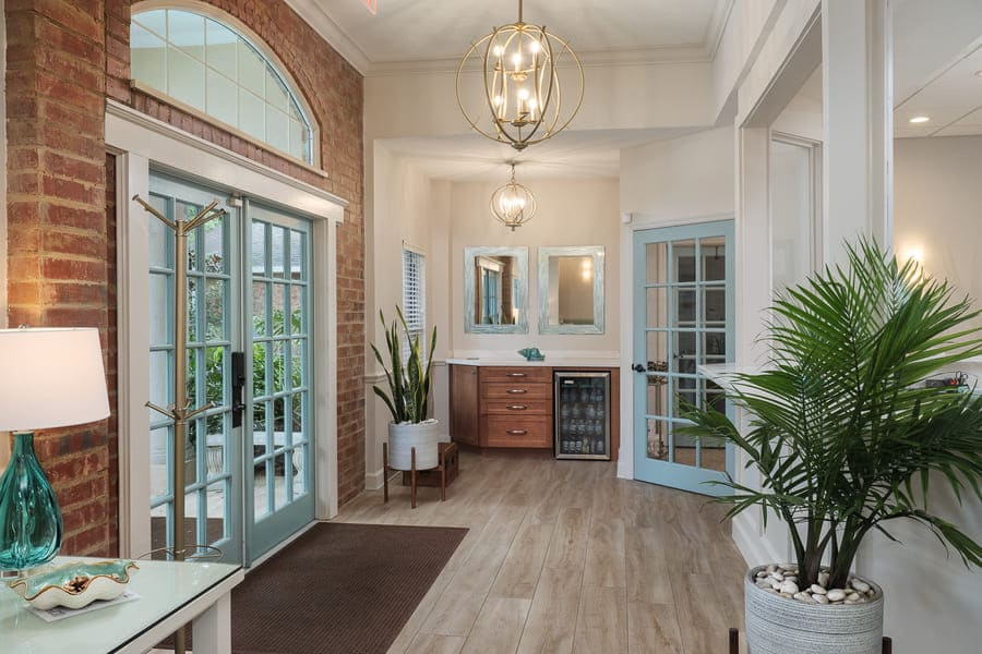 Dentist Office Commercial Renovation Entryway in Florida by Robinson Renovation & Custom Homes