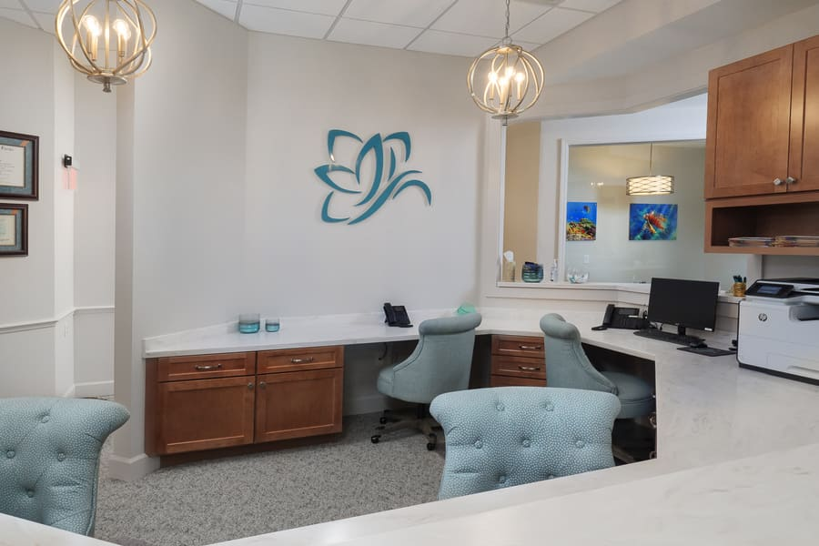 Dentist Office Commercial Renovation Office Space in Florida by Robinson Renovation & Custom Homes