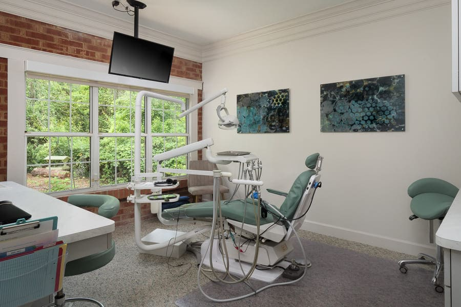 Dentist Office Commercial Renovation Operatory Remodel with Large Windows in Florida by Robinson Renovation & Custom Homes