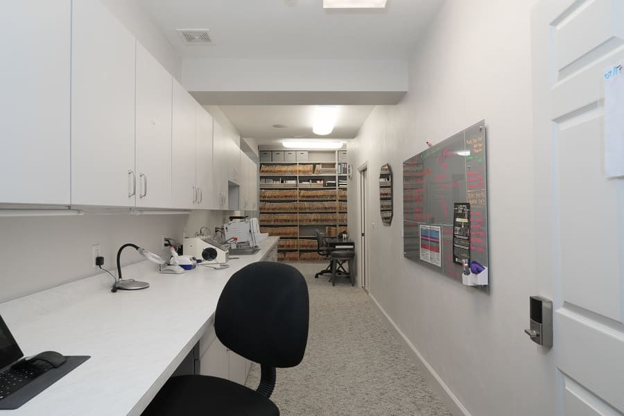 Dentist Office Commercial Renovation Staff Area in Florida by Robinson Renovation & Custom Homes