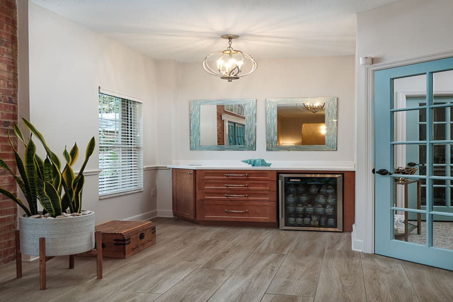 Dentist Office Commercial Renovation Waiting Room in Florida by Robinson Renovation & Custom Homes